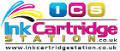 Ink cartridge station logo