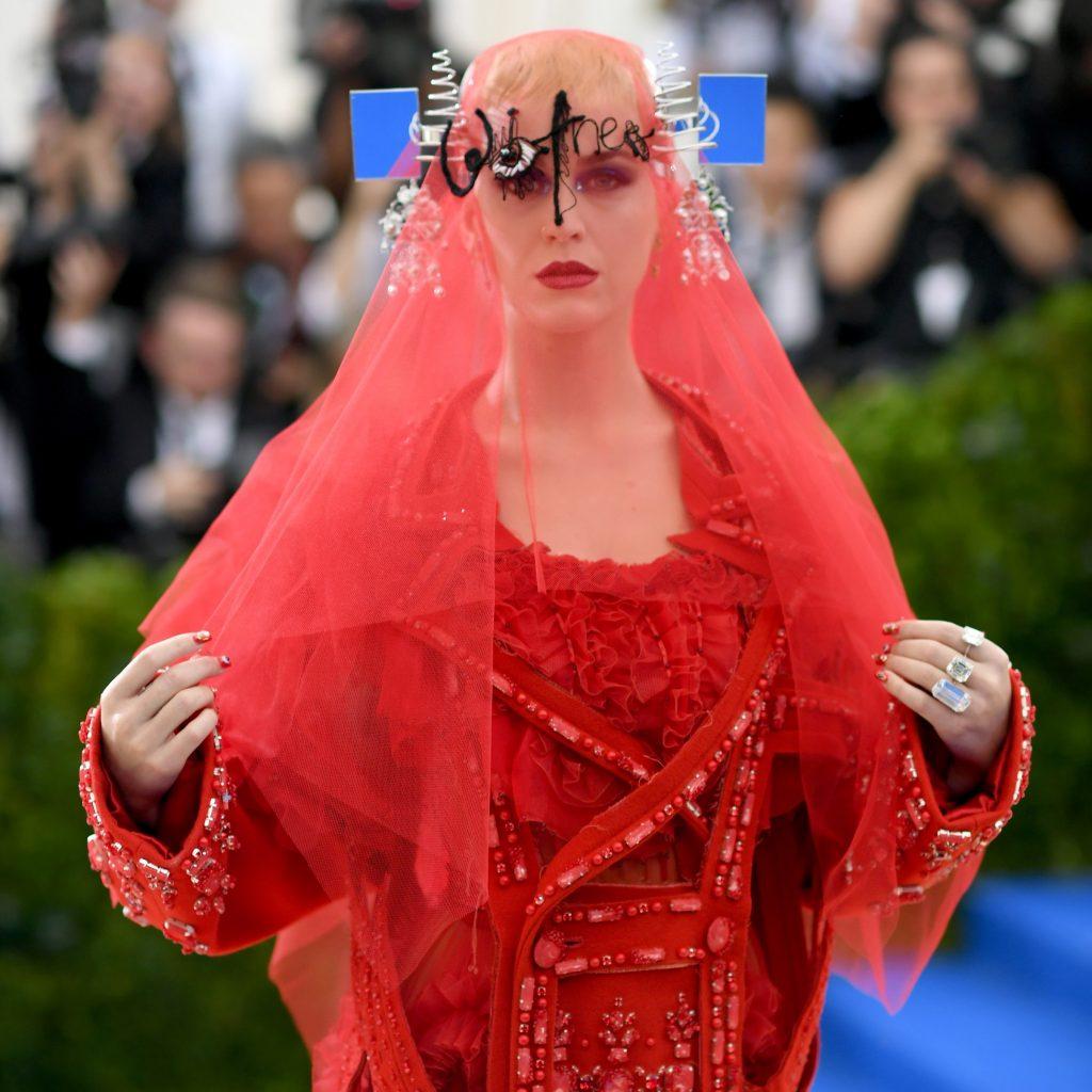 Katy Peri Met Gala 2017