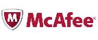 McAfee logo image