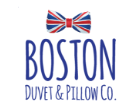boston duvet and pillow logo image