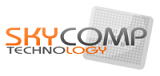SkyComp logo image