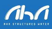 aha structured water logo image