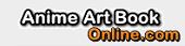 anime art book logo image