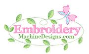 embroideymachinedesigns.com logo image