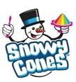 snowy cones logo image