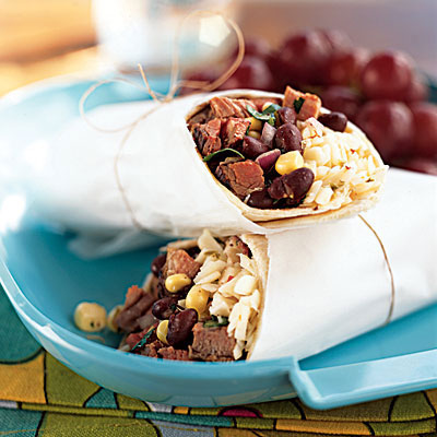 Steak Fajita Wraps