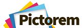 pictorem canvas printing logo