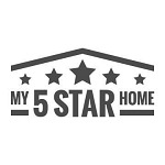 my 5 star home logo