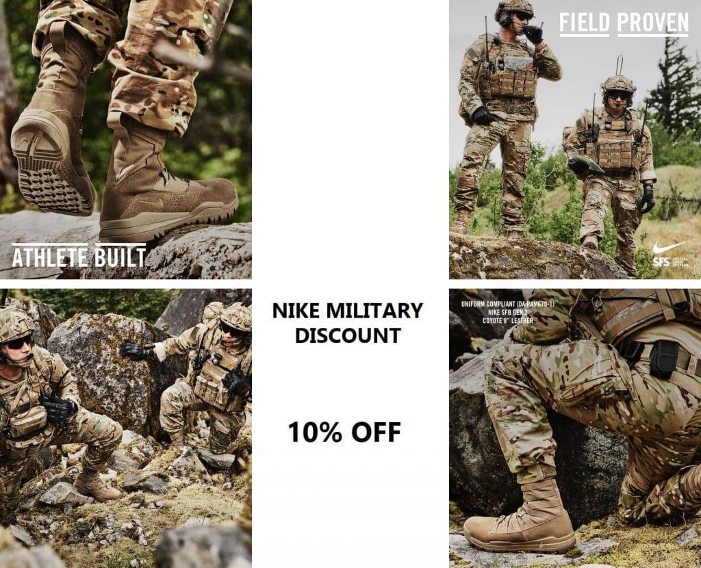 Nike Military sale