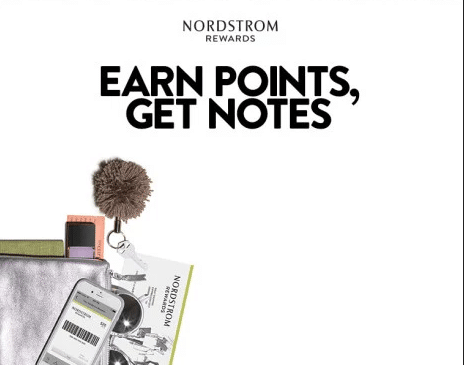 Nordstrom earn point get rewards