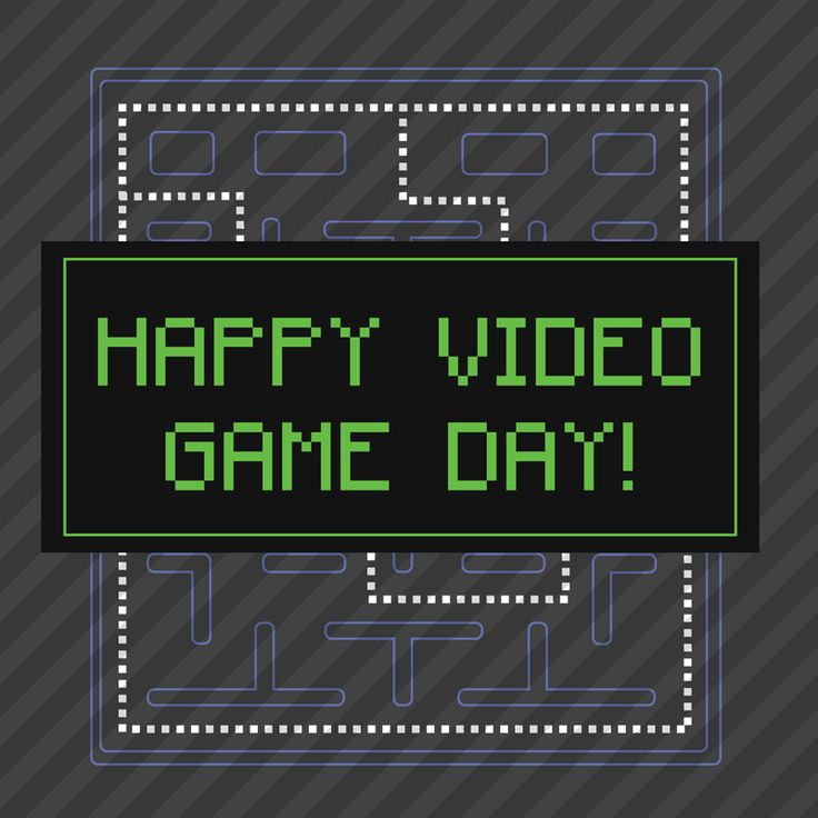 Happy Video Game Day