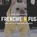 Frenchie N Pug logo