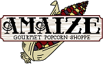 Amaize Gourmet Popcorn Shoppe logo