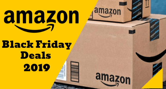 Amazon boxes with black friday deals