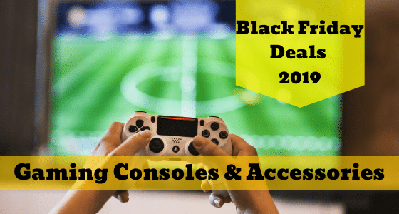 Black Friday deals on gaming consoles
