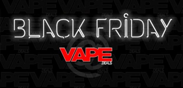 Black Friday banner on Vapes