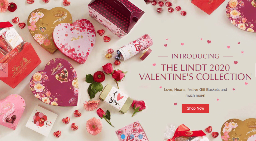 lindt valentines collection