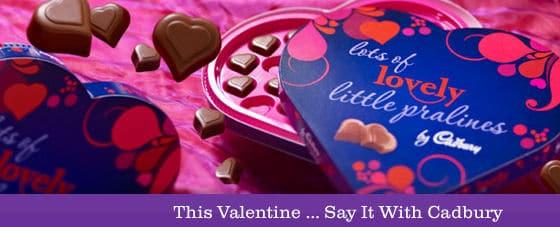 cadbury valentine deals