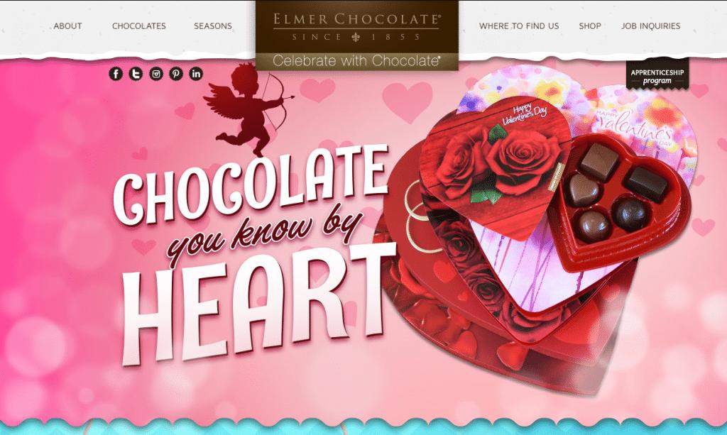 elmer chocolate banner