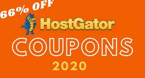 hostgator Promo Codes 2020