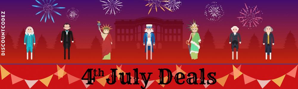 4th July Deals Banner