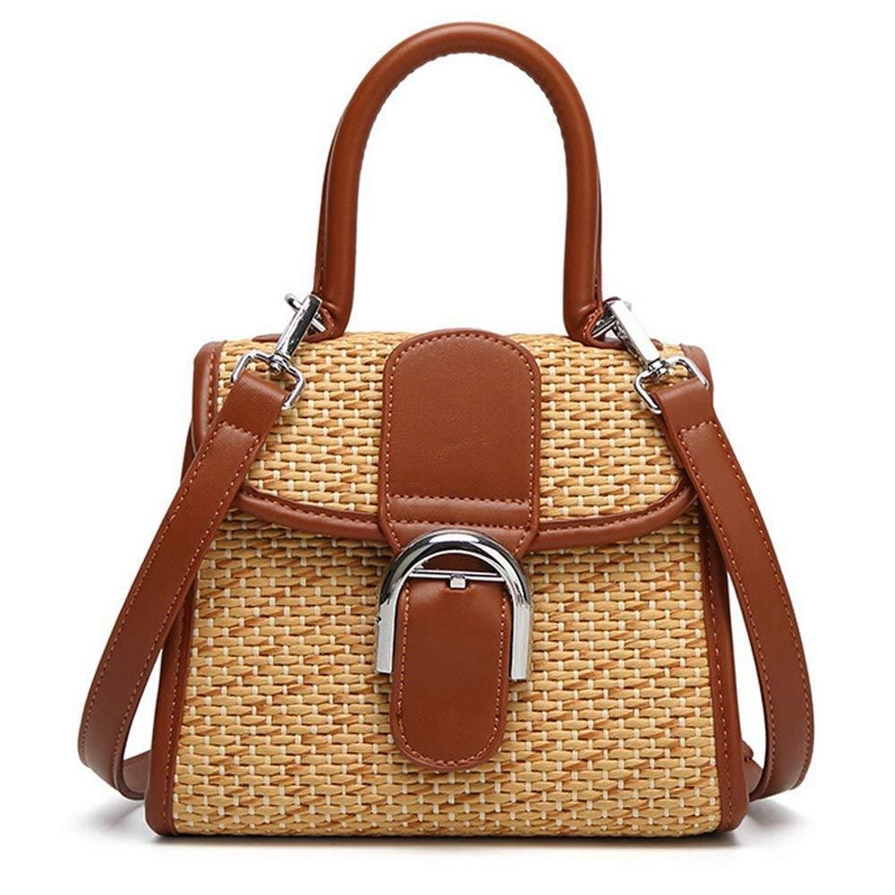 Boshiho Retro best Straw Handbag