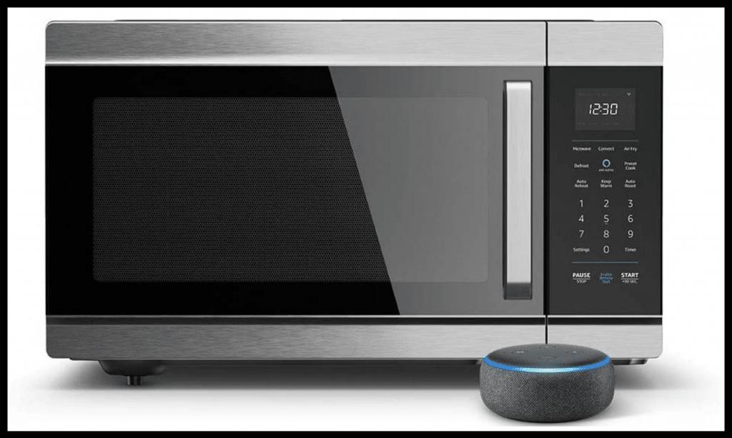 Amazon Smart Oven plus Echo Dot